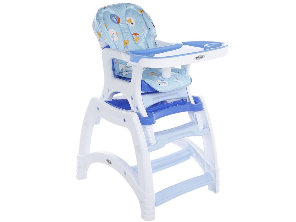 Prinsel kinder gatitos silla alta azul liverpool es parte for Sillas para kinder