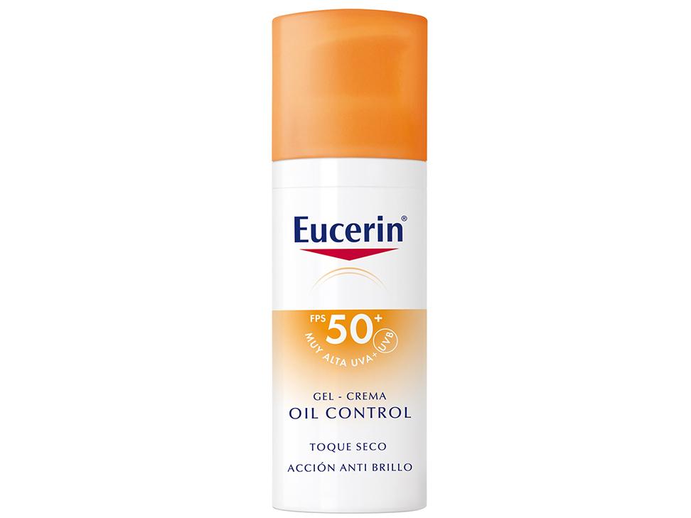 Eucerin Sun Face Oil Control Toque Seco FPS 50+ 50 ml