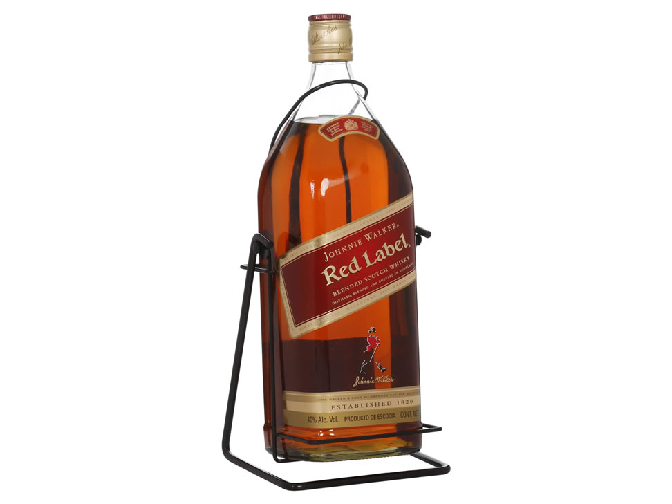 It's just a graphic of Canny Whisky Johnnie Walker Red Label 3 Litros